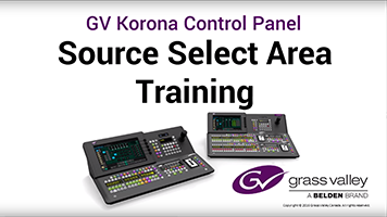 GV Korona Source Select Area Training: