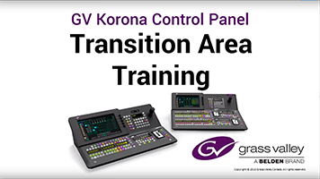 GV Korona Transition Area Training: