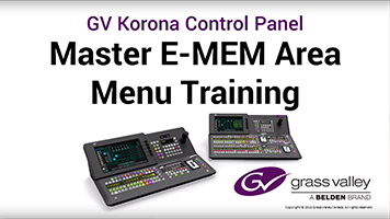 GV Korona Master E-MEM Area Training: