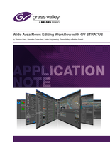 Wide Area News Editing Workflow with GV STRATUS Application Note