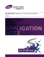 GV STRATUS: Integration of Facebook's GraphAPI Application Note