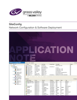 SiteConfig Network Configuration & Software Deployment Application Note