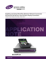 Enabling and Using ShareFlex Between Network Connected K2 Summit 3G Servers with K2 Dyno Replay Controllers Application Note