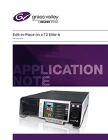Edit-in-Place on a T2 Elite-A Application Note