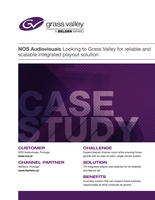 iTX Case Study: NOS Audiovisuais Looking to Grass Valley for Reliable and Scalable Integrated Playout Solution Case Study