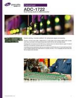 ADC-1722: Dual Analog Audio to AES Converter Datasheet