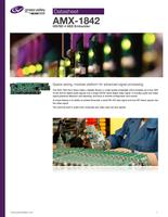 AMX-1842: HD/SD 4 AES Embedder Datasheet