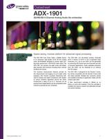 ADX-1901: 3G/HD/SD 8 Channel Analog Audio De-embedder Datasheet