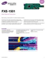 FXE-1501: Fiber Ethernet transceiver Datasheet