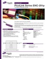 PicoLink Series ENC-291p: 12-bit SDI to NTSC/PAL Encoder Datasheet