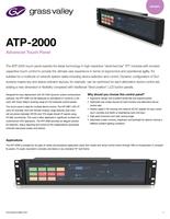 ATP-2000: Advanced Touch Panel Datasheet