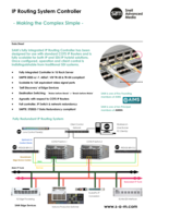 IP Routing System Controller  Datasheet