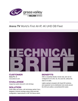 Arena TV World's First All-IP, 4K UHD OB Fleet Technical Brief