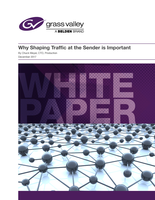 Why Shaping Traffic at the Sender is Important Whitepaper