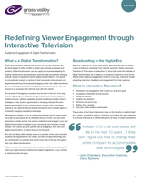 GV Gaming & Polling: Redefining Viewer Engagement Through Interactive Television Whitepaper