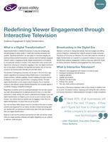 GV Gaming & Polling: Redefining Viewer Engagement Through Interactive Television Whitepaper