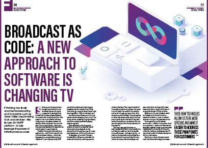 Broadcast As Code: a New Approach to Software Is Changing TV
