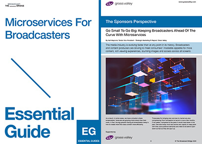 Essential Guide Microservices For Broadcasters