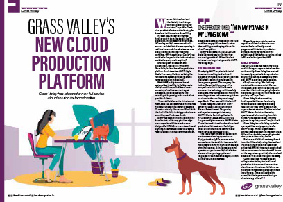 Grass Valley's New Cloud Production Platform