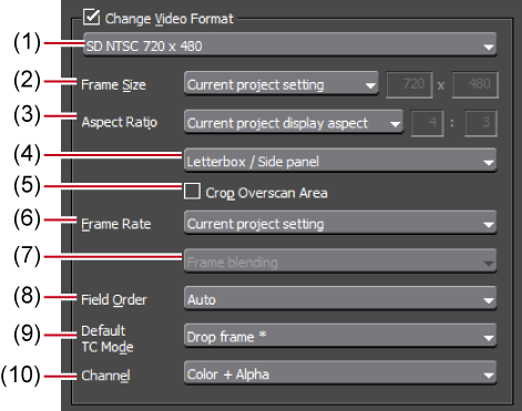 Exporting in a Variety of File Formats